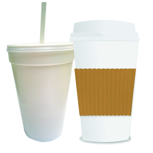 Coffee cups (disposable)
