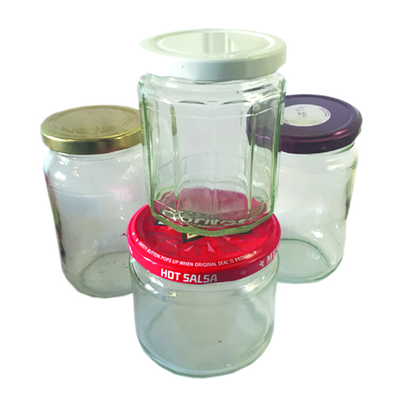 Glass jars & lids