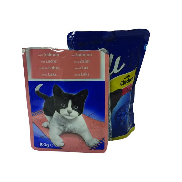 Pet food sachets